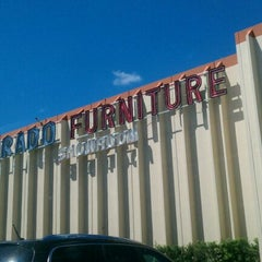 Photo taken at El Dorado Furniture by Ileana E. on 3/24/2012
