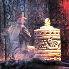 Photo taken at Indiana Jones Epic Stunt Spectacular! by Marcelo B. on 9/13/2012