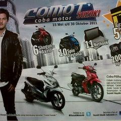 Photo taken at Suzuki Hero Sakti Motor Gemilang by massuv M. on 9/7/2011