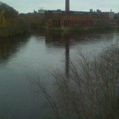 Photo taken at Hunts Falls Bridge by Sabrina B. on 11/17/2011