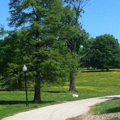 Photo taken at Patterson Park by Kristina R. on 4/29/2012