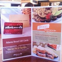 Photo taken at Atlanta Bread Company by Michael D. on 12/10/2011