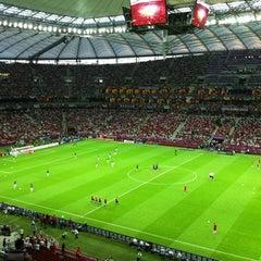 Photo taken at UEFA EURO 2012 Poland / Ukraine by Dan on 6/21/2012
