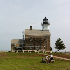 Photo taken at Sheffield Island Lighthouse by Rob R. on 5/27/2012