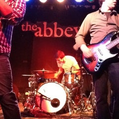 Photo taken at Abbey Pub by I Can Hear Myself Levitate w. on 1/17/2012