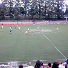 Photo taken at Historic Riggs Field by Geoffry G. on 8/18/2012