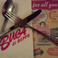 Photo taken at Buca di Beppo Italian Restaurant by Adam M. on 5/3/2012