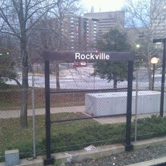 Photo taken at Rockville Metro Station by Danny P. on 12/27/2011