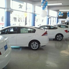 Photo taken at Honda of Downtown Los Angeles by Matt M. on 12/2/2011