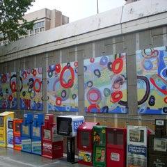 Photo taken at Crystal City Metro Station by Design Vibez on 8/9/2011
