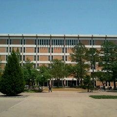 Photo taken at UTA Library by Ross V. on 5/5/2012