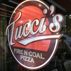 Photo taken at Tucci's Fire N Coal Pizza by Andrew B. on 4/15/2012