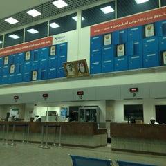 Photo taken at Emirates Post Office مكتب بريد الإمارات by Aleksey N. on 6/10/2012
