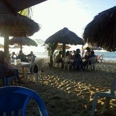 Photo taken at Barraca do Joca by Jean-Pierre L. on 4/22/2012