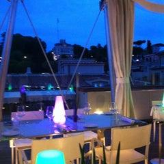 Photo taken at Hi-Res Restaurant & Terrace Lounge by Merih Y. on 9/2/2012