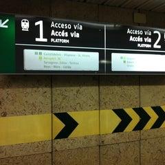 Photo taken at RENFE Passeig de Gràcia by David R. on 2/9/2011
