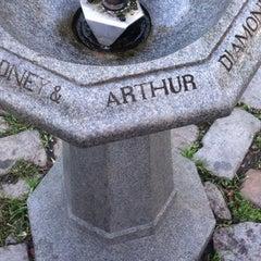 Photo taken at Sidney & Arthur Diamond Fountain by Mandola Joe on 10/10/2011