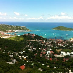 Photo taken at Port Of St. Thomas by Carlos G. on 5/28/2012