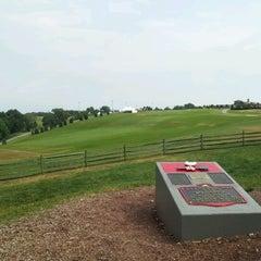 Photo taken at Woodstock Festival Concert Site/Monument by Dustin K. on 7/7/2012