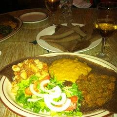 Photo taken at Gojo Ethiopian Restaurant by Pete S. on 11/21/2011