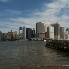 Photo taken at Governors Island Ferry by Sean H. on 9/25/2011