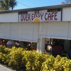 Photo taken at Over Easy Café by P J. on 1/21/2012