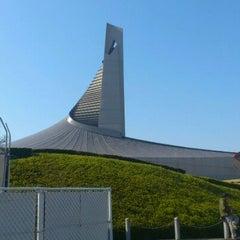 Photo taken at 国立代々木競技場 第二体育館 by Akira S. on 4/8/2012