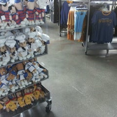 Photo taken at Brewers Team Store by Majestic Athletic by Jen Y. on 7/16/2012