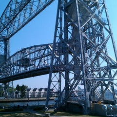 Photo taken at Duluth Lift Bridge by Michael M. on 7/20/2012