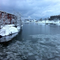 Photo taken at Suomenlinna / Sveaborg by Pınar P. on 1/20/2012