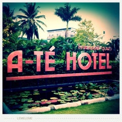 Photo taken at A-te' Hotel (โรงแรม เอเต้ ชุมพร) by Juthamas T. on 7/15/2011