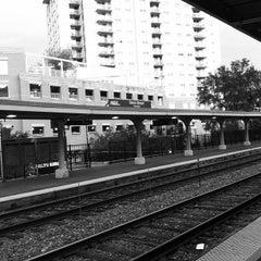 Photo taken at Metra - Evanston (Davis Street) by Tim R. on 8/23/2012