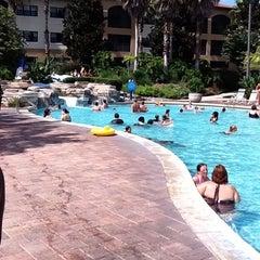 Photo taken at Splash Lagoon (North Village at Orange Lake Resort) by Mark F. on 7/21/2011