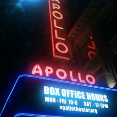 Photo taken at Apollo Theater by Larry R. on 11/5/2011