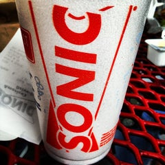 Photo taken at SONIC Drive In by Ravi M. on 3/31/2012