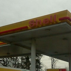Photo taken at Shell by Christina J. on 2/3/2012