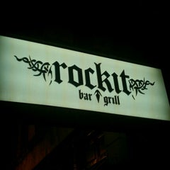Photo taken at Rockit Bar and Grill by Mike R. on 2/19/2012