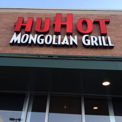 Photo taken at HuHot Mongolian Grills by Jeff P. on 4/22/2012