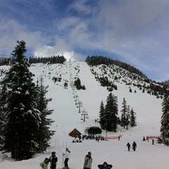 Photo taken at Cypress Mountain by Melodie F. on 3/17/2012