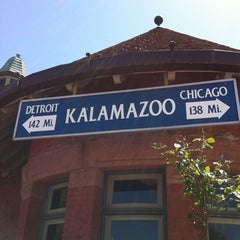Photo taken at Kalamazoo Transportation Center - Amtrak (KAL) by Andy J. on 5/10/2012