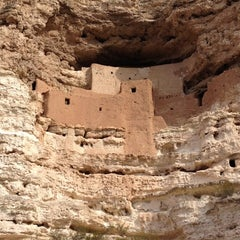 Photo taken at Montezuma Castle National Monument by Adam S. on 3/6/2012
