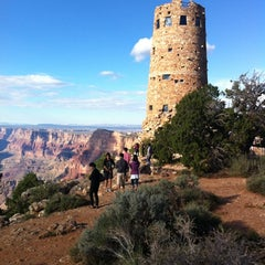 Photo taken at Desert View Watchtower by Mark A. on 9/13/2012