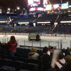 Photo taken at Chicago Wolves Game by Jake M. on 4/28/2012