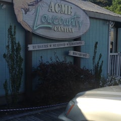 Photo taken at Acme Lowcountry Kitchen by Katie C. on 4/9/2012