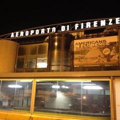 """Photo taken at Aeroporto di Firenze """"Amerigo Vespucci"""" (FLR) by Julio S. on 7/8/2012"""
