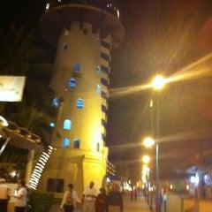 Photo taken at El Faro Bar by Tita V. on 2/13/2012