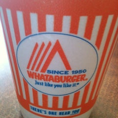 Photo taken at Whataburger by Julie A. on 6/1/2012