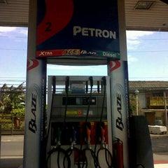 Photo taken at Petron by Roxan C. on 4/1/2012