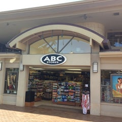 Photo taken at ABC Store by david l. on 7/25/2012