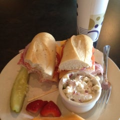 Photo taken at All In Gourmet Deli by Jennifer R. on 7/13/2012